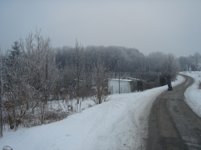 Walk Podgorze winter