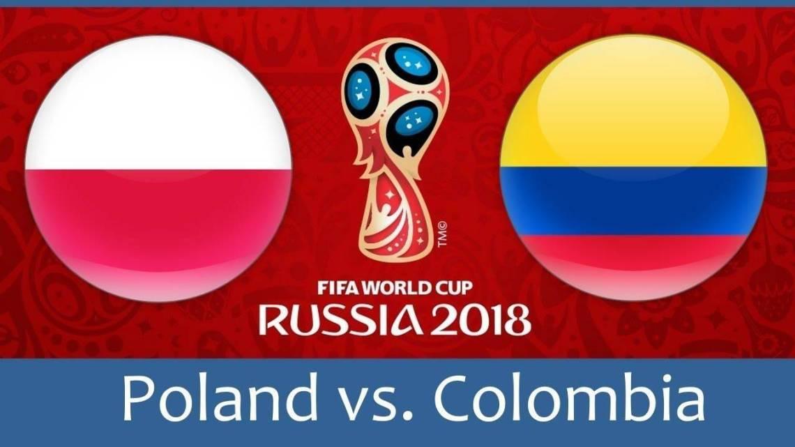 2018 FIFA World Cup: Poland vs Colombia
