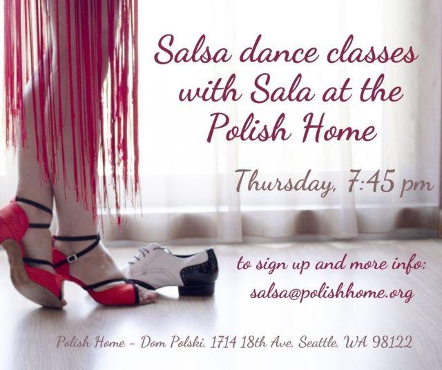 Salsa Dance Classes at the Polish Cultural Center