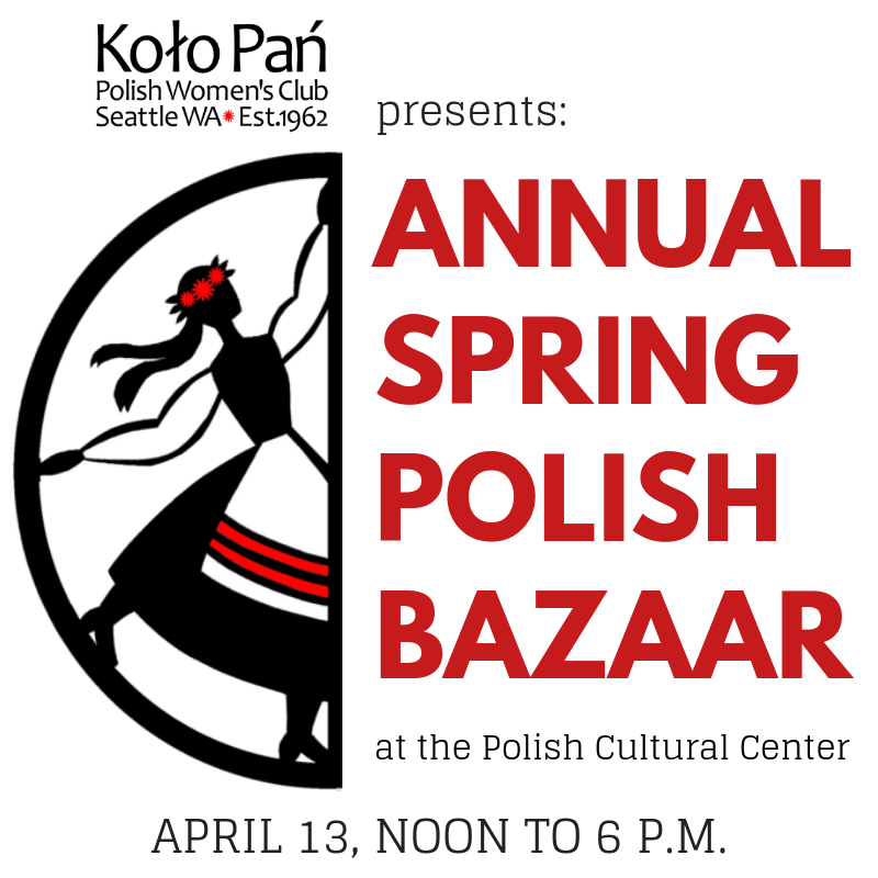 April 13, Polish Spring Bazaar