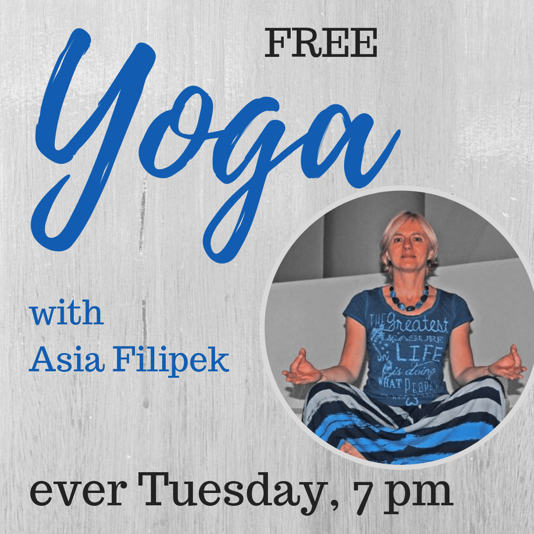 Free YOGA class every Tuesday