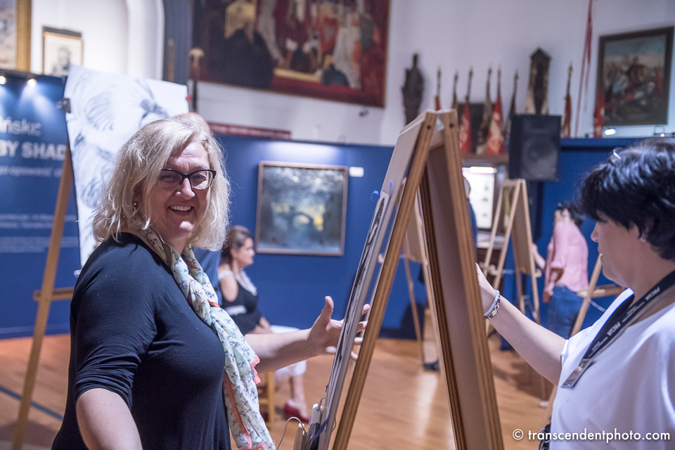 Renata's 11 faces during workshop with Piotr Antonow