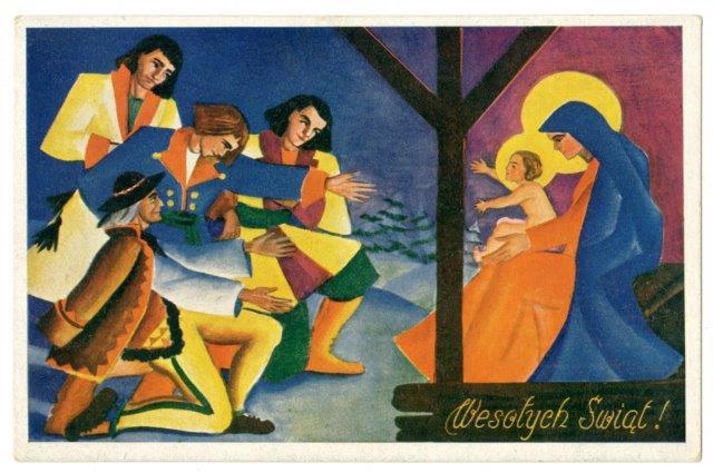 S. Barański: Vintage postcard from the collection of the Polish Museum of America, Kraków, Wydawnictwo Salonu Malarzy Polskich, circa 1930