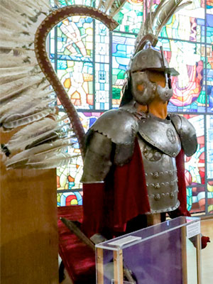 zgroja husarska w muzeum polskim