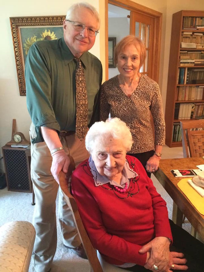 104th Birthday of Mrs. Maria Mirecka Lorys, PMA Life Member