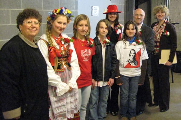 Contestants of Beautiful Poland 2