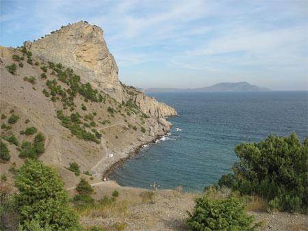 Crimea Noviy Svet-Golitsin Path