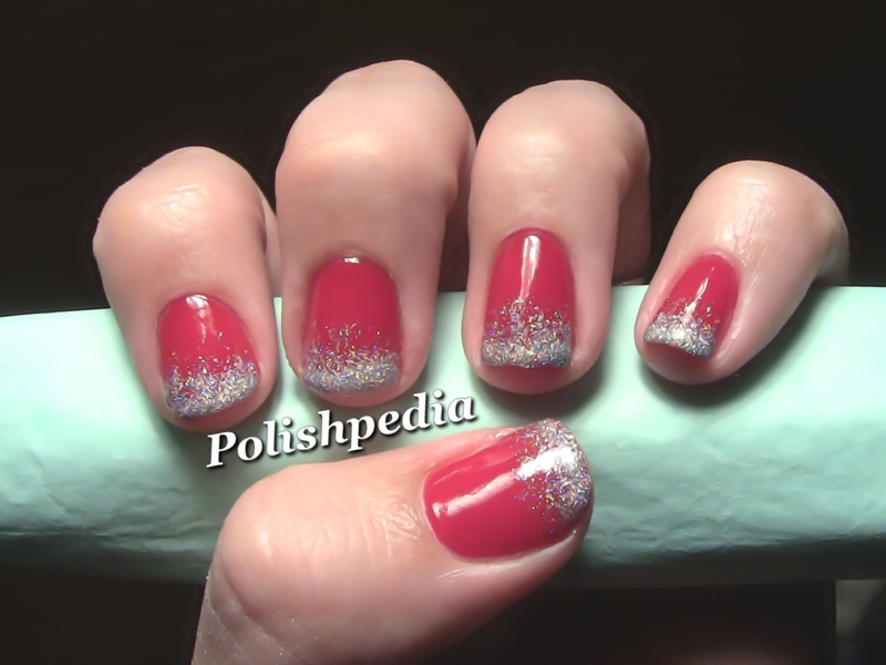 View Images Ombre Christmas Nail Art Polishpedia Guide