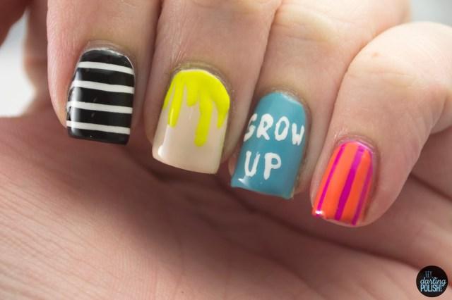 nails, nail art, nail polish, polish, hayley williams, lacquer legion, adoration, paramore, hey darling polish