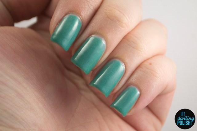 teal, mind palace, holo, a study in polish, hey darling polish, nails, nail polish, indie, indie nail polish, indie polish, swatch,