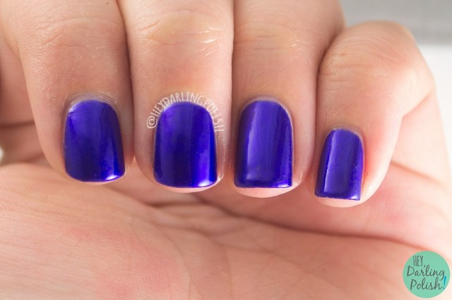 purple, metallic, mila, shimmer, luxe lacquers, swatch, july box, summer, hey darling polish, indie polish, nails, nail polish,