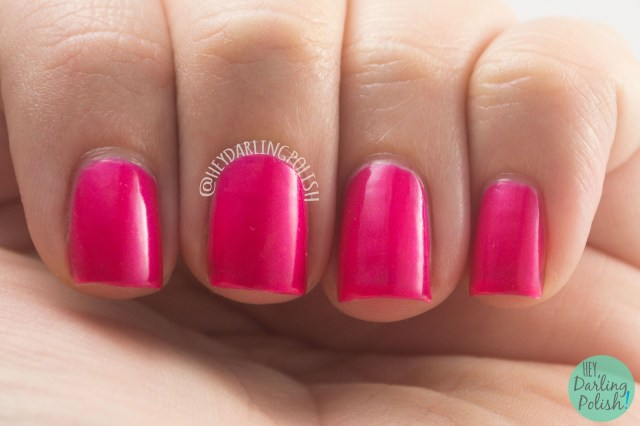 summer, festival season, pink, neon, hey darling polish, amazing chic nails, swatch, review, nails, nail polish, indie, indie polish, indie nail polish