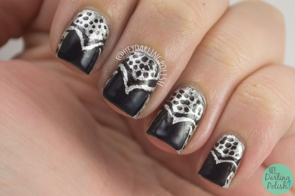 Fingerfood Theme Buffet Art Deco Polish Those Nails