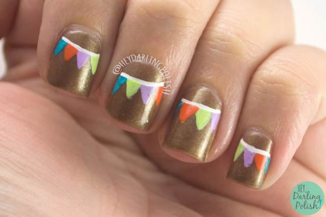 nails, nail art, nail polish, flags, hey darling polish, china glaze, 31 day challenge, 31dc2014