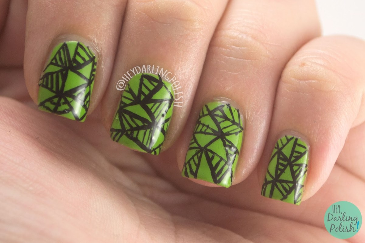 The Nail Challenge Collaborative:  Geometric -Week 1