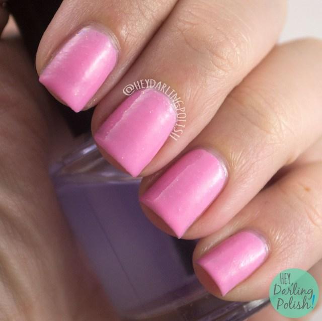 pink, baby, nails, nail polish, polish, indie nail polish, indie polish, nvr enuff polish, nvr enuff, spice world, spice girls, hey darling polish, swatch,