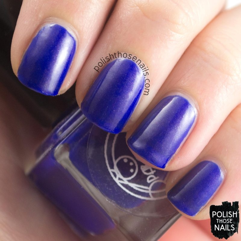 bryant, blue, shimmer, parallax polish, indie polish, secience collection, science