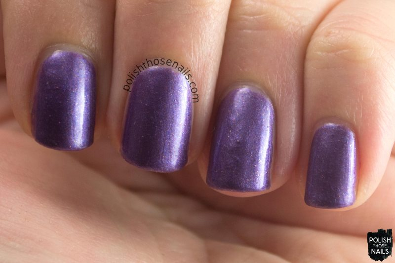 choppin, purple, shimmer, parallax polish, indie polish, secience collection, science