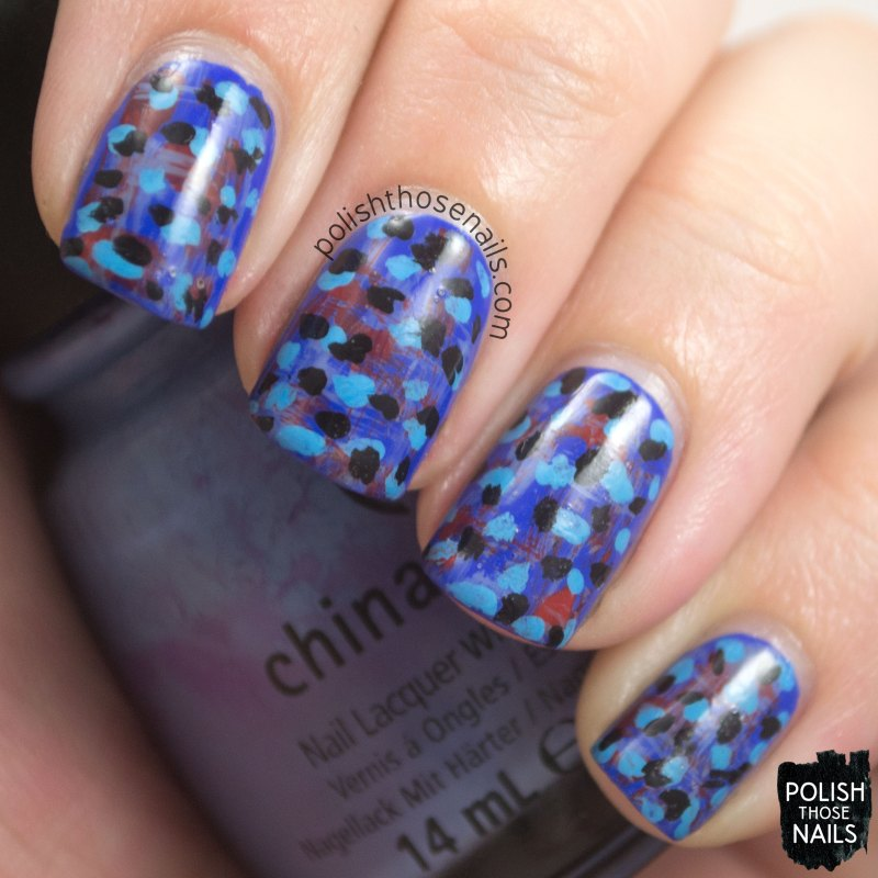 nails, nail art, nail polish, colorful, oh mon dieu 3, omd3, polish those nails, polka dots