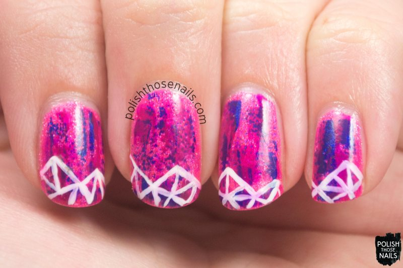 nails, nail art, nail polish, neon, polish those nails, geometric,