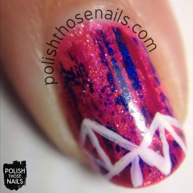 nails, nail art, nail polish, neon, polish those nails, geometric, macro