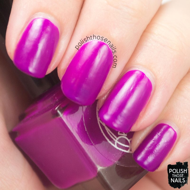hippocampus, purple, matte, nails, nail polish, indie, indie polish, indie nail polish, parallax polish, polish those nails, swatch