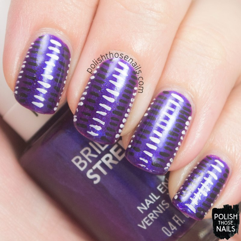 nails, nail art, nail polish, stripes, purple, polish those nails,