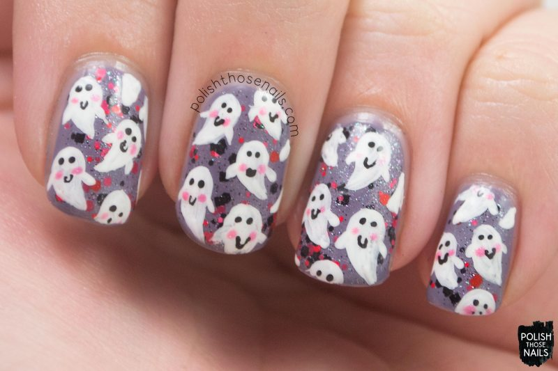 nails, nail art, nail polish, ghost, polish those nails,