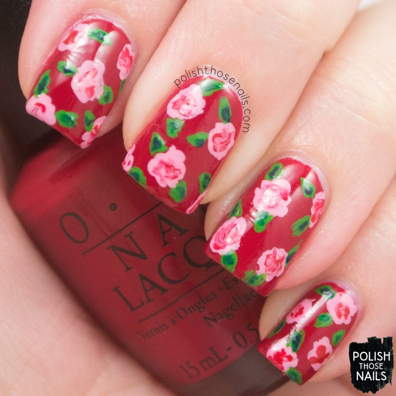 Love-Is-In-My-Cards-Red-Creme-Rose-Nail-Art-3