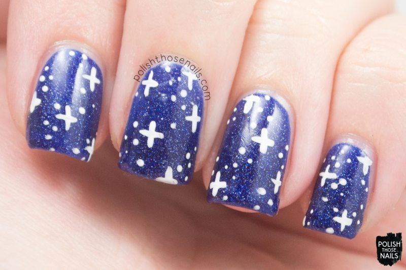 OPI-Starlight-Collection-Give-Me-Space-Blue-Holographic-Star-Galaxy-Nail-Art-1