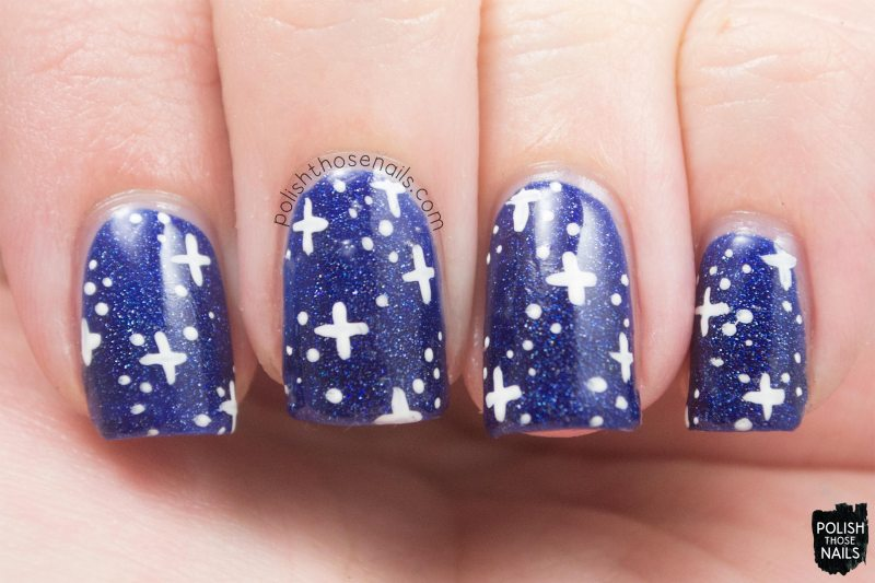 OPI-Starlight-Collection-Give-Me-Space-Blue-Holographic-Star-Galaxy-Nail-Art-2