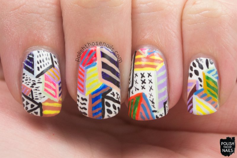nails, nail art, nail polish, polish those nails, pattern