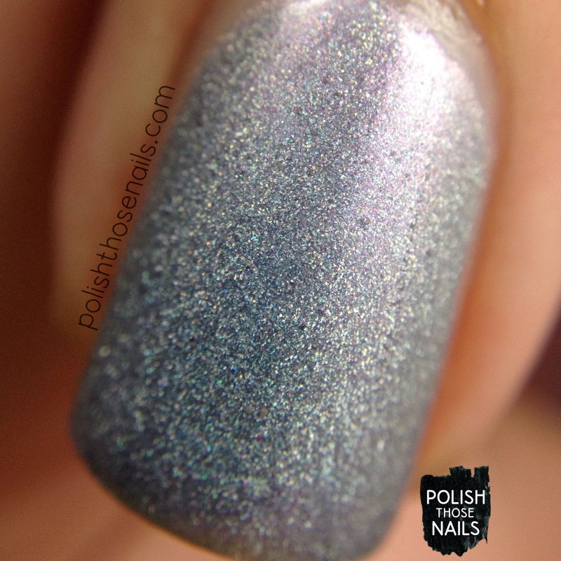purple, holo, willow, nails, nail polish, indie polish, daily hues nail lacquer, polish those nails, macro