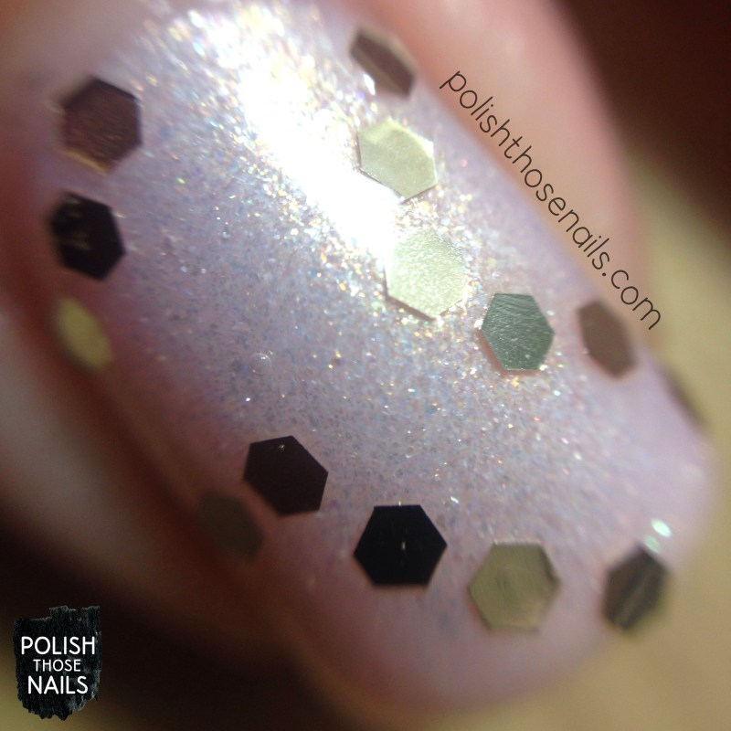 glass pink, shimmer, pink, delicate, nails, nail art, nail polish, sinfulcolors, macro