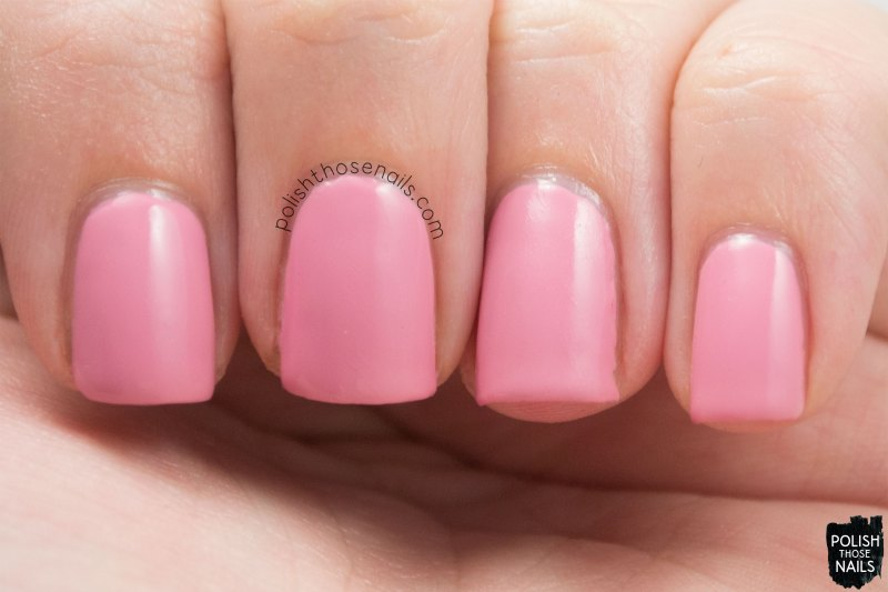 sinfulcolors, pink break, pink, creme, swatch, polish those nails, a class act, back to school 2015
