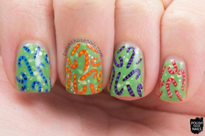 nails, nail art, nail polish, candy canes, christmas, holiday, polish those nails
