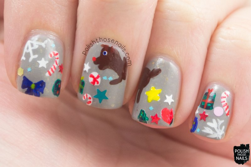 nails, nail art, nail polish, holiday, christmas nail art, polish those nails