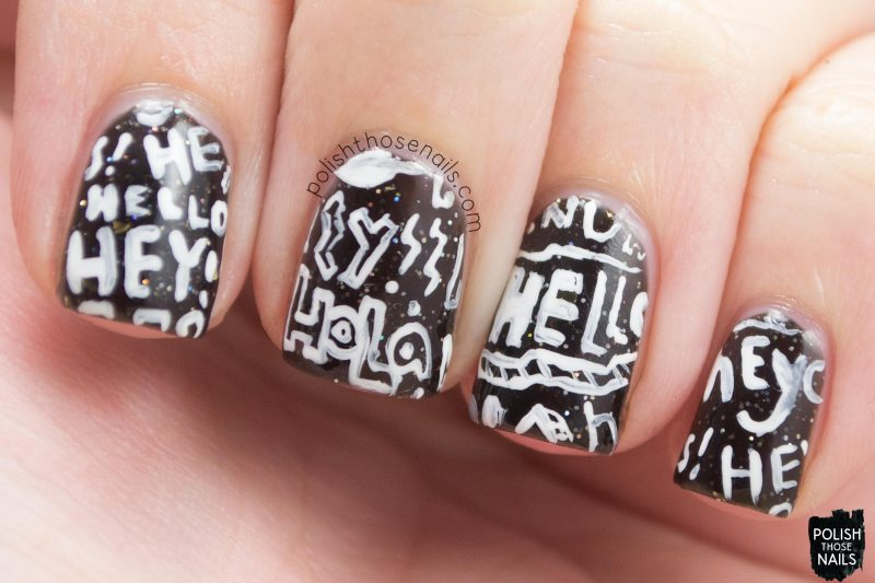 nails, nail art, nail polish, typography, polish those nails