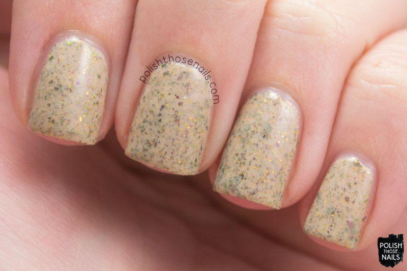 christmas cheer, flakies, nails, nail polish, swatch, indie polish, polish those nails, noodles nail polish