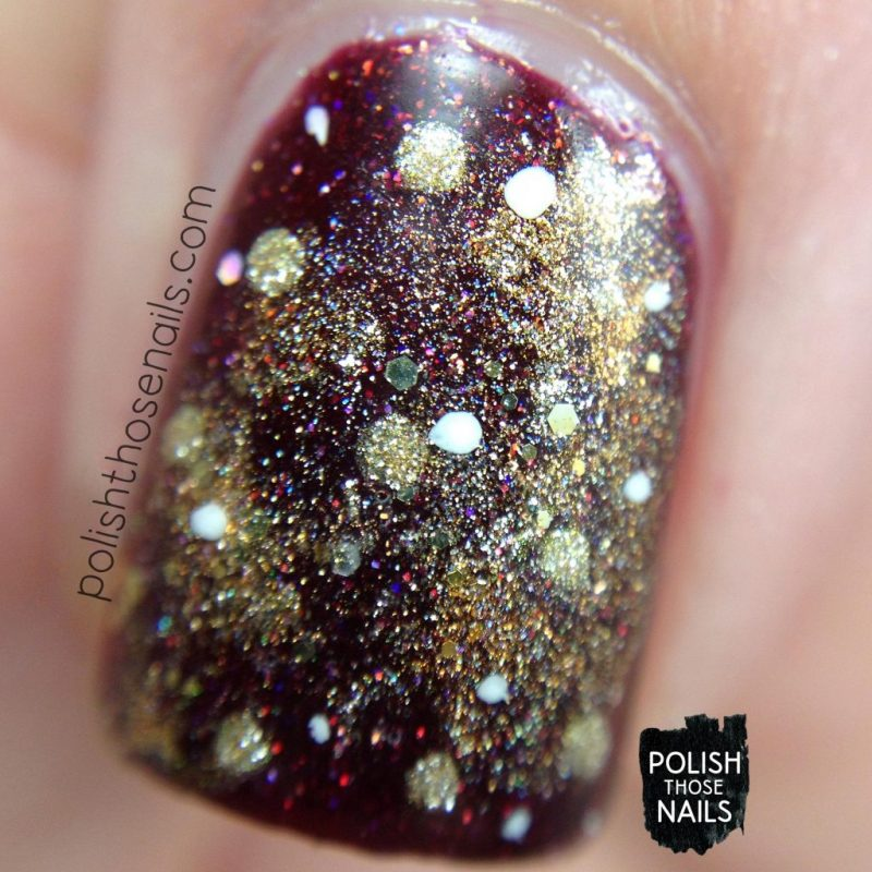 nails, nail art, nail polish, red, gold, polish those nails, macro