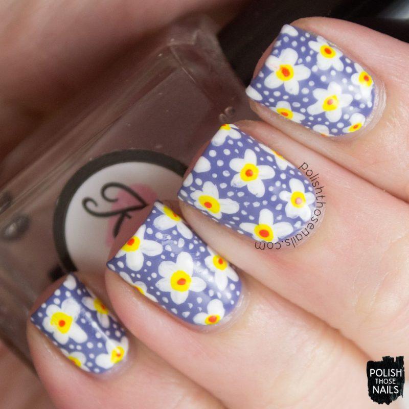 nails, nail art, nail polish, floral, polish those nails,