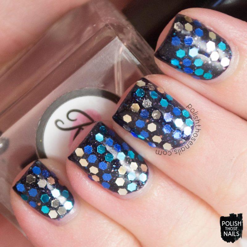 nails, nail art, nail polish, glitter placement, glequins, polish those nails