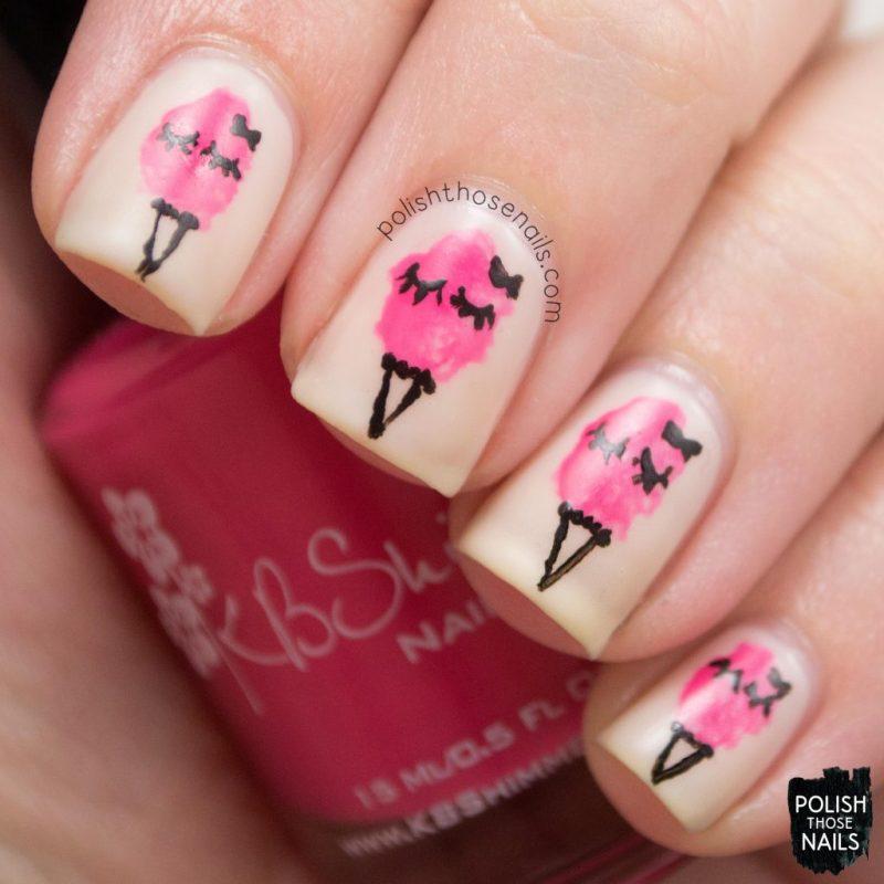 nails, nail polish, nail art, cotton candy, sweets, polish those nails