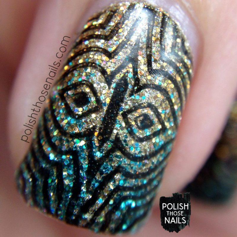 nails, nail art, nail polish, gradient, glitter, polish those nails, stamping, macro