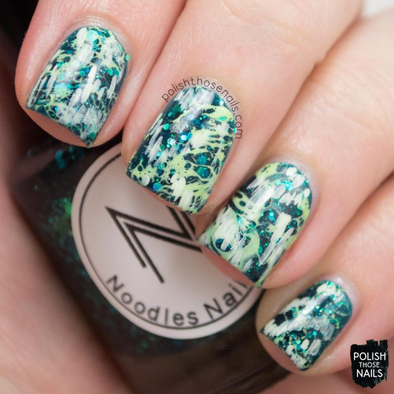 nails, nail art, nail polish, green, monochrome, polish those nails