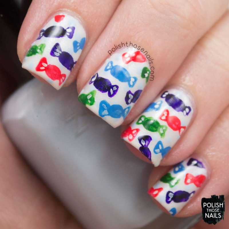 nails. nail art, nail polish, candy, sweets, pattern, polish those nails