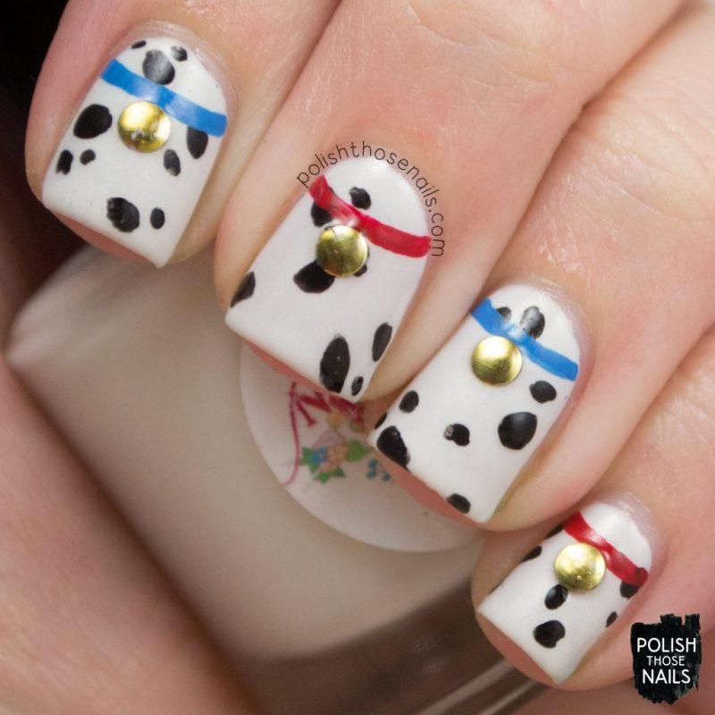 nails, nail art, nail polish, 101 dalmatians, polish those nails