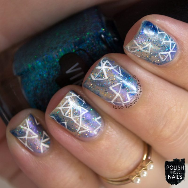 nails, nail art, nail polish, galaxy, negative space, fractals, polish those nails