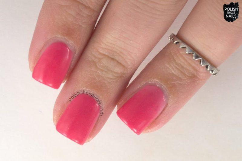 blushing nudie, pink, nails, nail polish, indie polish, swatch, damn nail polish, polish those nails, summer sunset series, thermal