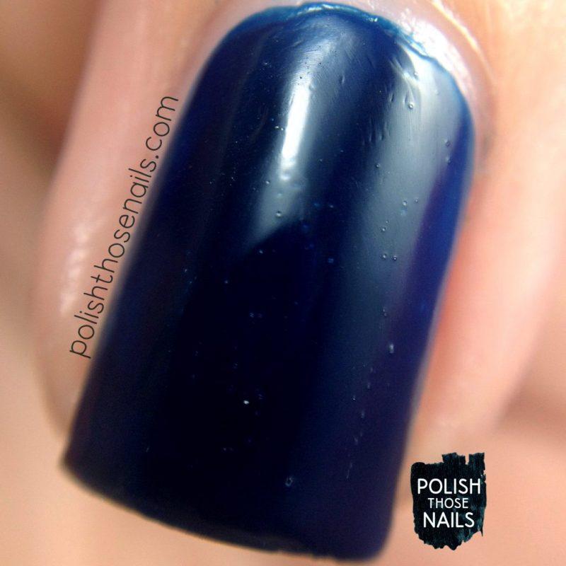 tomorrow night's sky, blue, swatch, nails, nail polish, indie polish, love angeline, polish those nails, macro
